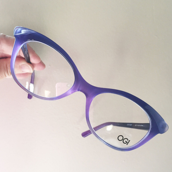 60db16224cb OGI eyeglass frames purple ombre cat s eye unused. NWT